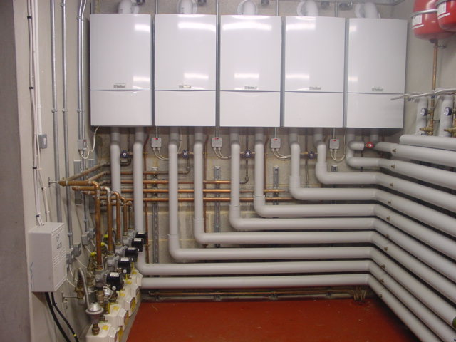 Boilers On Office Heating Contract Bridgend