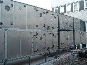 Air Handling Units at Haverfordwest Hospital